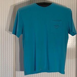 Tommy Bahama Sea Foam Blue relax fit tee shirt.